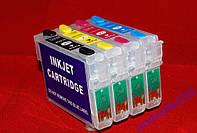 Перезаправляемые картриджи ПЗК Epson T0731N - T0734 CX7300,TX200,TX400 и др.