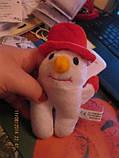 Игрушка мягкая снеговик фирменная Британия б у сувенир новый год, фото 3