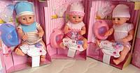 Куклы Baby Born с аксессуарами и одеждой 3 вида YL1710B