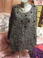 GEORGE свитер кофта интересный 20 54 XL свободный