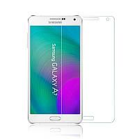 Защитное Стекло на Самсунг Galaxy A7 (2016) A710F Тонкое 0.26 мм гладкие стороны и углы 2.5D