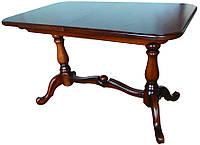Фабричный стол обеденный+гостиная  Дуэт 140(+50)х85 (орех светлый)