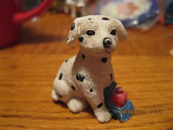 Долматинец собака пес сувенір невелика статуетка