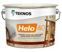 Лак для дерева яхтный универсальный уретан-алкидный полуглянцевый TEKNOS HELO 40 0,9