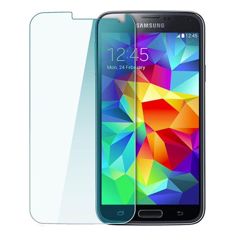 Защитное Стекло на Самсунг Galaxy S3 mini i8190 Тонкое 0.26 мм гладкие стороны и углы 2.5D