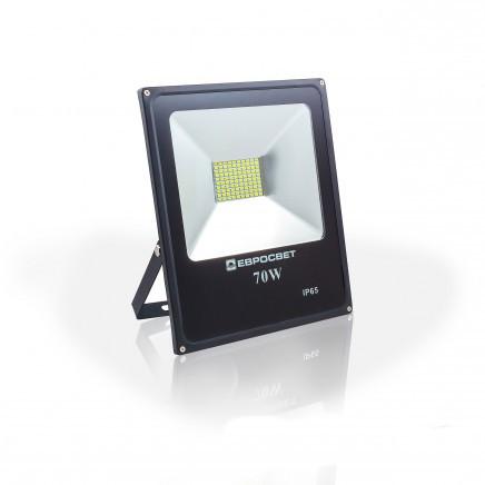 Светодиодный прожектор EVRO LIGHT 70Вт EV-70-01 6400K 5600 Lm SMD