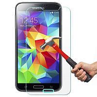 Защитное Стекло на Самсунг Galaxy S5 mini G800H Тонкое 0.26 мм гладкие стороны и углы 2.5D