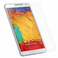 Защитное Стекло на Самсунг Galaxy Note 3 N9000/N9002 Тонкое 0.26 мм гладкие стороны и углы 2.5D