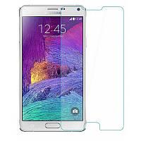 Защитное Стекло на Самсунг Galaxy Note 4 N910H Тонкое 0.26 мм гладкие стороны и углы 2.5D
