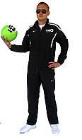Чёрный мужской спортивный костюм Nike total 90