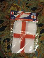 Сувенир флаг Британия гирлянда из 8шт одинак 23x15
