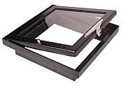Дверца для камина Жарко внутренняя с окантовкой (400х400)