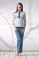 Пижама блуза со штанами 038/001
