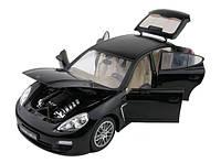 Машинка на радиоуправлении 1:18 Meizhi лиценз. Porsche Panamera металлическая (черный)