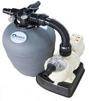 Фильтрационная установка 4.0 м3/ч для каркасных бассейнов