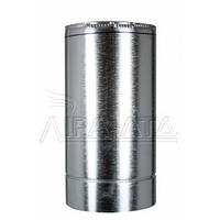 Труба для сауны (термо) 0,5 метра 0,8мм н/оц AISI 304