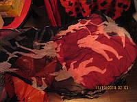 WALLIS платок шарф легкий шарфик черно-белый ИНДИЯ