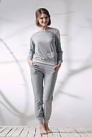 Пижама меланж со штанами 037/001