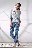 Пижама хлопковая со штанами 042/001