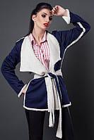 Оригинальная курточка под пояс