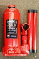 Домкрат бутылочный, 5т красный, H=195/380 <ДК>