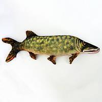 Антистрессовая подушка-игрушка Рыба  Щука бол.80х22