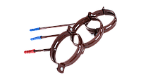 Держатель трубы метал L-160, 90/75