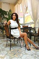 Платье стильное летнее 2074 ш гербера $