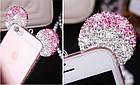 Чехол силиконовый 3D Mickey Mouse Case Pink для iPhone 5/5s, фото 4