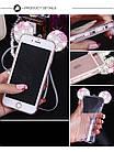 Чехол силиконовый 3D Mickey Mouse Case Blue для iPhone 5/5s , фото 2