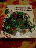 Книга справочник о растениях на английском языке Success wich HousePlants DIGEST
