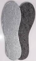 Стельки для обуви(войлок+фольга)разм.38-48