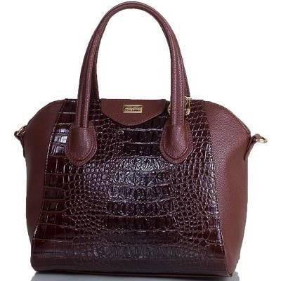 Представительная женская сумка из искусственной кожи ETERNO (ЭТЕРНО) ETMS35255-10 коричневый