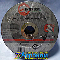 Круг отрезной по металлу Ø125х1.6х22.2 мм Intertool