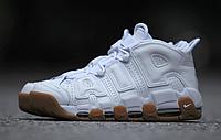 """Женские баскетбольные кроссовки Nike Air More Uptempo """"White Gum"""""""