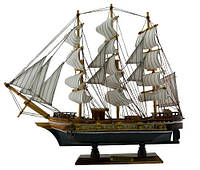 Корабль дерево 420х380х80