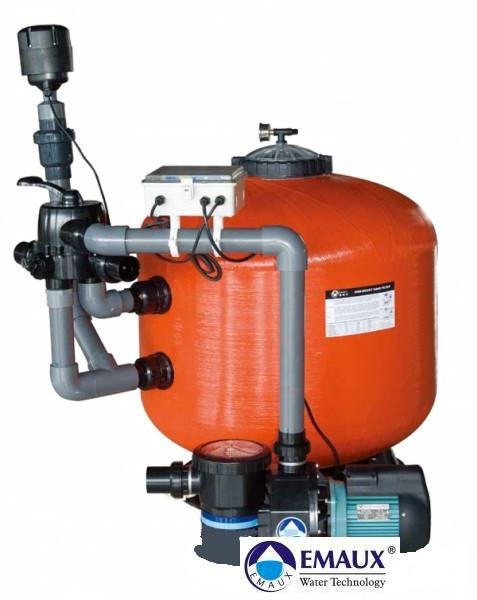 Фильтрационная установка 24 м3/ч с насосом SC 150 для прудов
