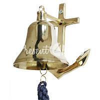 Морской сувенир рында Якорь d-7,5 см.,1510 Sea Club