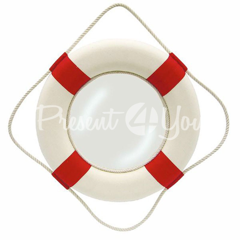 Морской сувенир зеркало «Спасательный круг», d-50 см. Sea Club