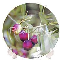 Набор десертных тарелок «Оливка» (4 шт) d-19 см.