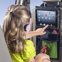 Держатель Ipad (планшета) в авто 28*49 см Черный (04050)