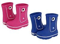 Сапоги Crocs Kids Crocband Jaunt Boot / детские резиновые дождевики с кружочком