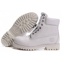 Timberland 6 inch All White