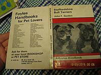 Staffordshire BULL TERRIERS книга АНГЛИЙСКОМ языке