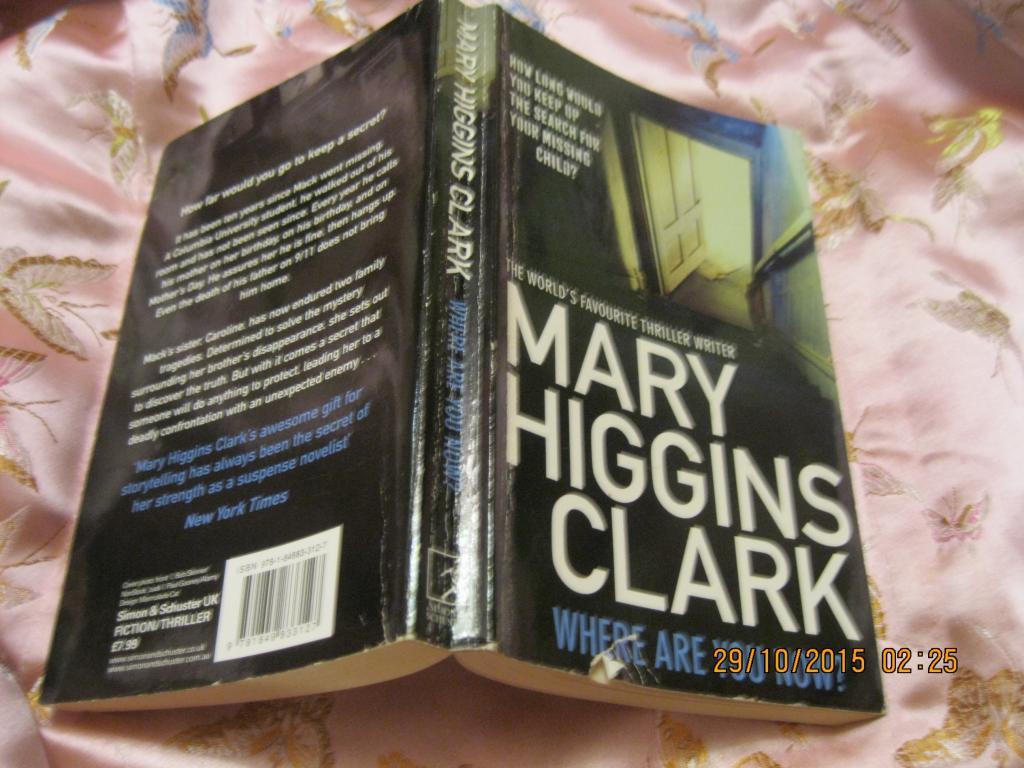 Книга АНГЛІЙСЬКОЮ МОВОЮ роман MARY CLARK англія