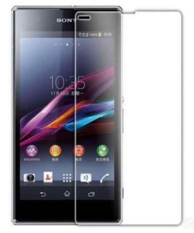 Защитное Стекло на Sony Xperia Z3 D6603 Тонкое толщиной 0.26 мм гладкие стороны и углы 2.5D