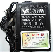 Трансформатор LD 66 -24V 3A  5.5*2.5   .dr
