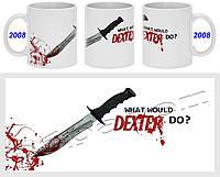 Кружка чашка Dexter Декстер