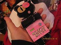 Магнит блокнот кот черный одноглазый новый кошка фирменный