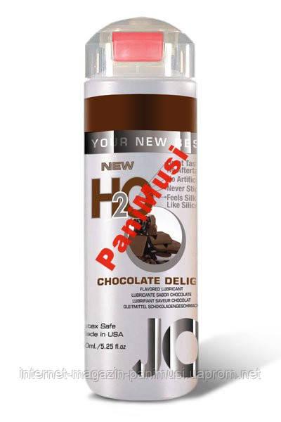 Съедобный любрикант со вкусом шоколада JO H2O
